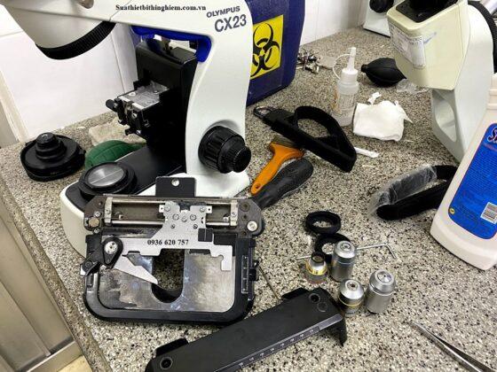 Sửa chữa kính hiển vi CX23