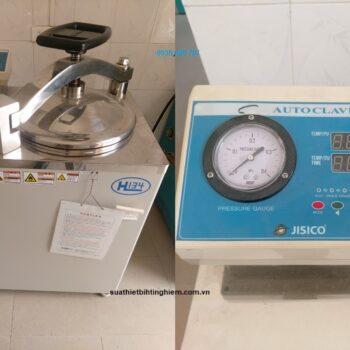 3Sửa chữa thay thế điện trở kháng đốt nồi hấp Jisico J-NAS81