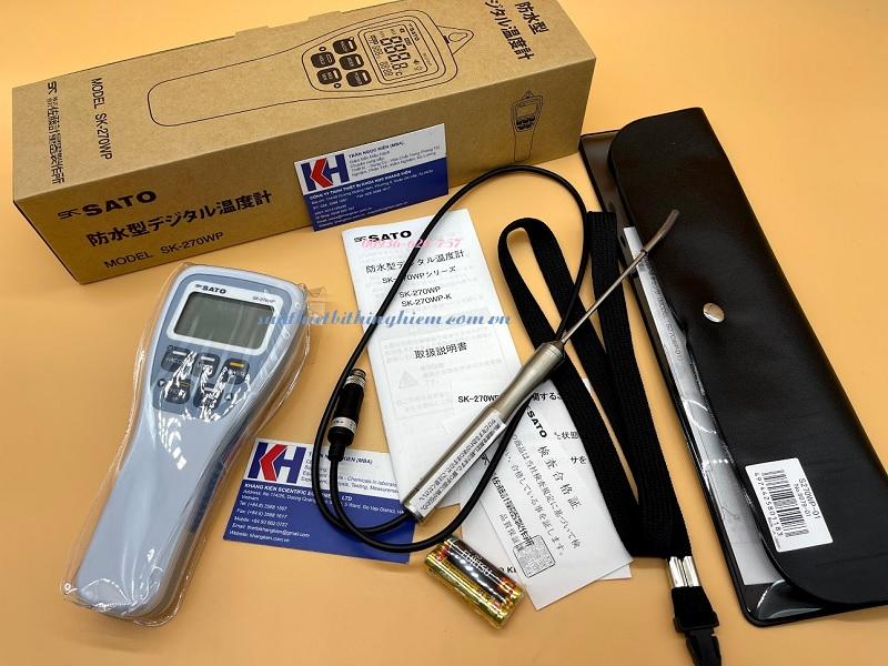 Chức năng HACCP được trang bị cho nhiệt kế.